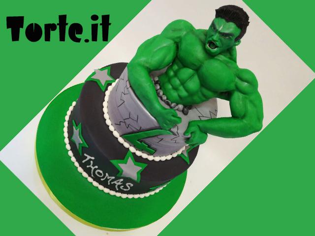 Torte Compleanno Bambini Hulk.Torte Per Bambini Hulk Cake